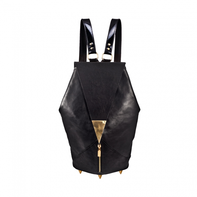 MH for DM Leather Backpack